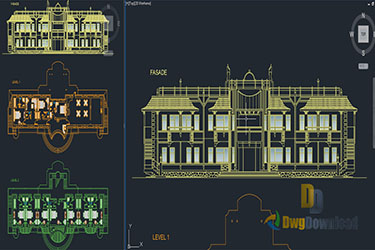 Hotel Plans Dwg Download