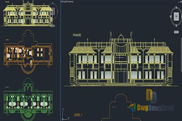 Hotel Plans Dwg Download