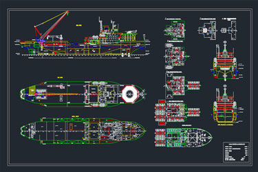 Rescue Boat Autocad Project 2