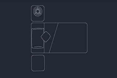 Bedroom Plan Single Bed