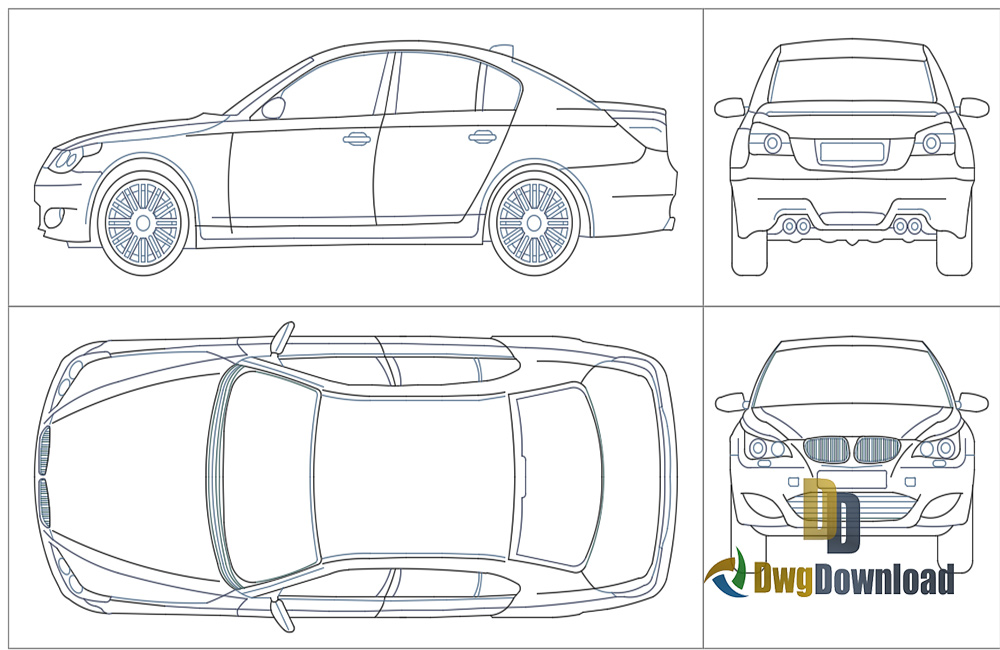 car dwg, bmw m5 dwg about  categories of vehicles