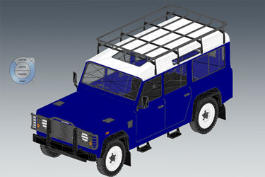Land Rover Defender Revit 3D Model