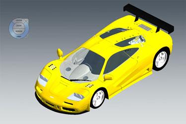 Mclaren Revit 3D Model