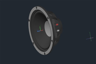 3D Loudspeaker Dwg