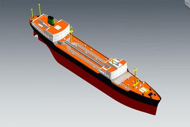 Ship Revit 3D Model