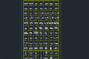 Vehicle Types Cad Blocks
