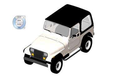 Jeep Revit 3D Model