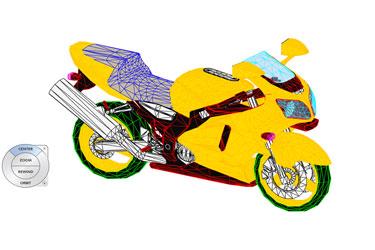 Race Motor Revit 3D Model