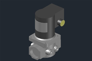 Pneumatic 3D Solenoid Valve