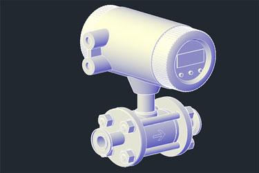 Pneumatic 3D Flowmeter