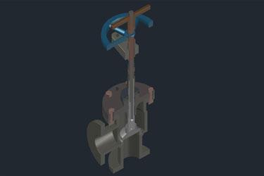 Pneumatic 3D Stop Valve