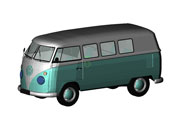 Volkswagen Type 2 Van Revit 3D Model