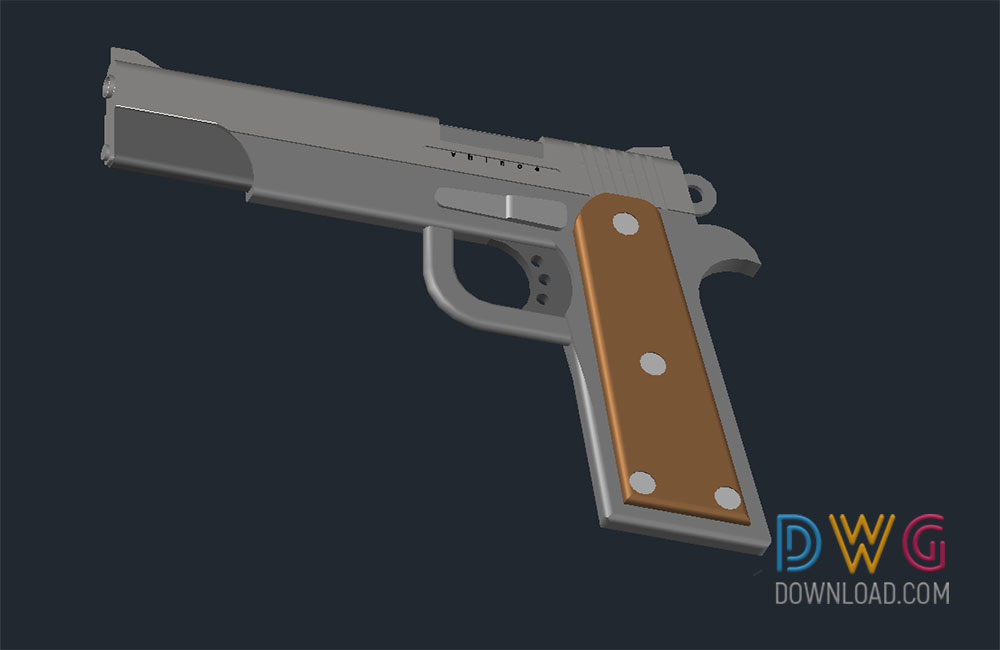 3D dwg drawing, 3d, gun dwg, weapon dwg about  categories of 3D-Model,miscellaneous