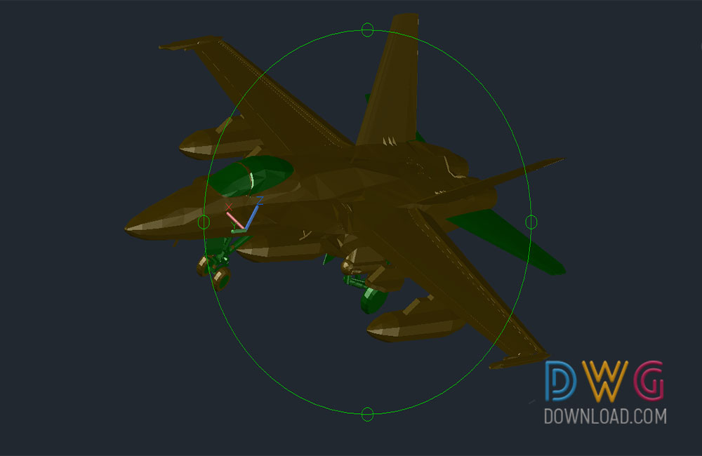 f18 fighter dwg, aircraft dwg, plane dwg, 3D dwg drawing, 3d about  categories of 3D-Model,aircraft-helicopters