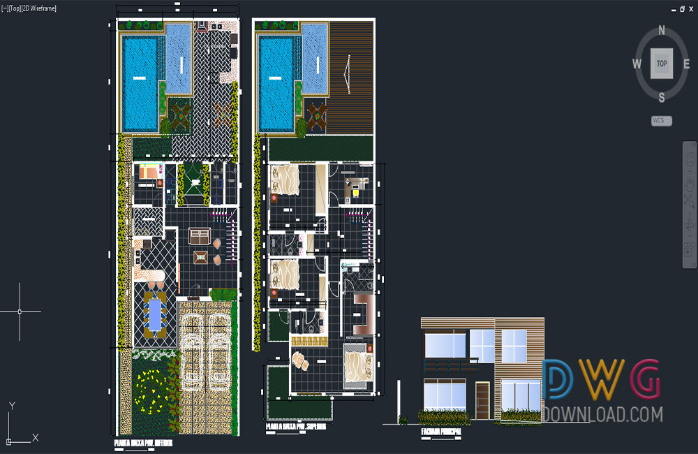architectural detail dwg, villa dwg, villa details dwg about  categories of architecture,building-house