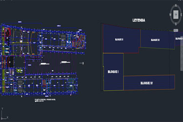 Secondary School Expansion Cad Dwg