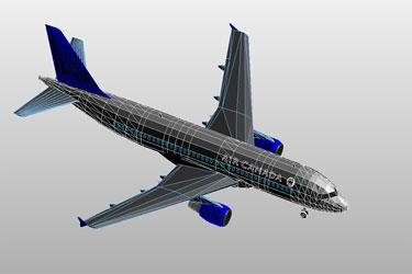 Airbus A 320  Revit 3D Model
