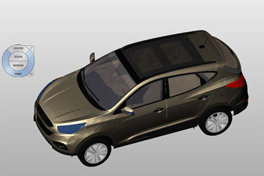 Hyundai İx35 Suv 3D Model