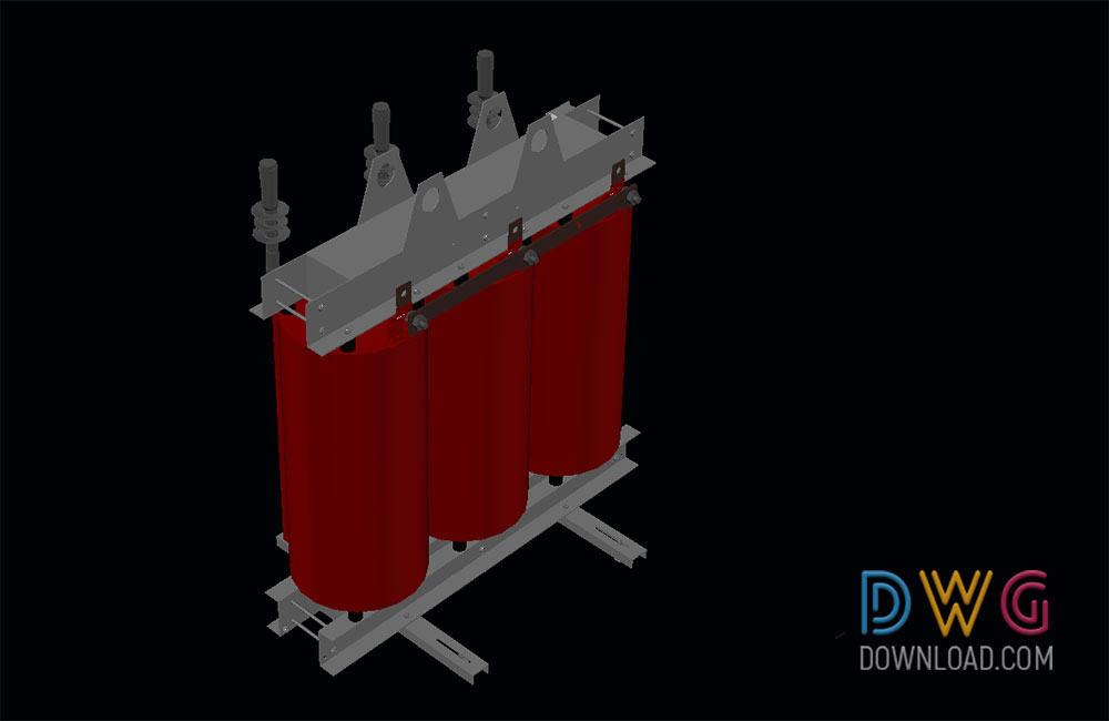 3D dwg drawing, 3d, 3d current transformer dwg, electrical devices dwg about  categories of 3D-Model,electrical