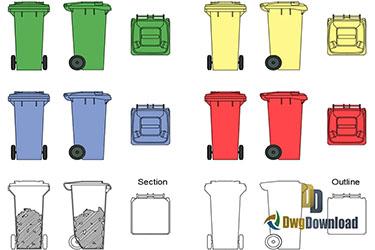 Garbage Cads Blocks Dwg Download
