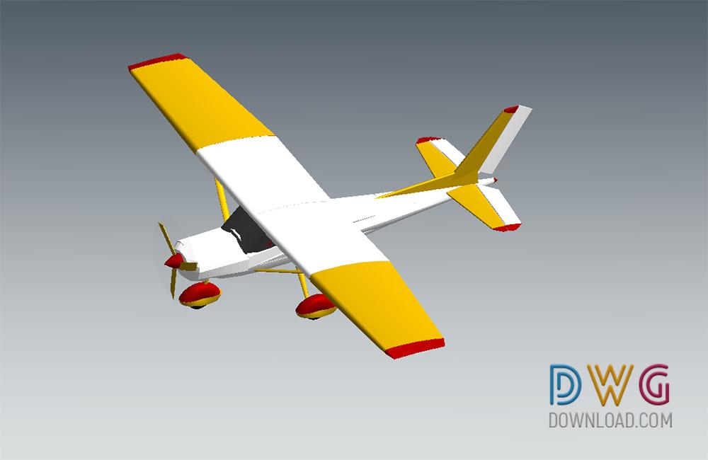 Cessna Plane Revit 3D Model » DwgDownload Com