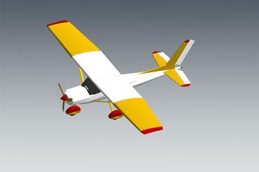 Cessna Plane Revit 3D Model