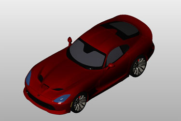 autocad 3d car model free download