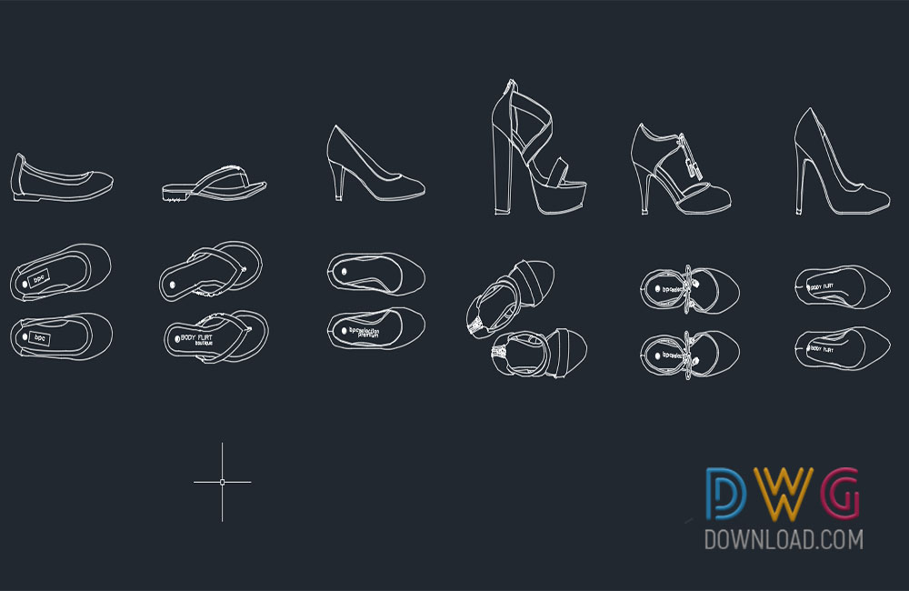 cad blocks, shoes cads blocks dwg about  categories of cad-blocks