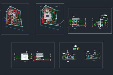 Ecologıcal House Dwg