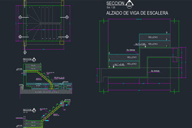 Ladder Detail Drawing Example Dwg
