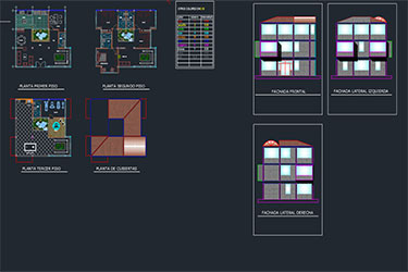 Club House Project Free Dwg