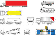 Trucks Cads Blocks Set Dwg Download
