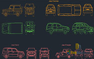 Jeep Drawings Dwg Download
