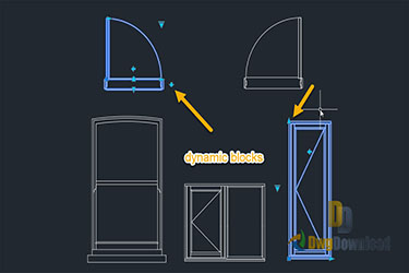 Dynamic Windows And Doors Dwg Download